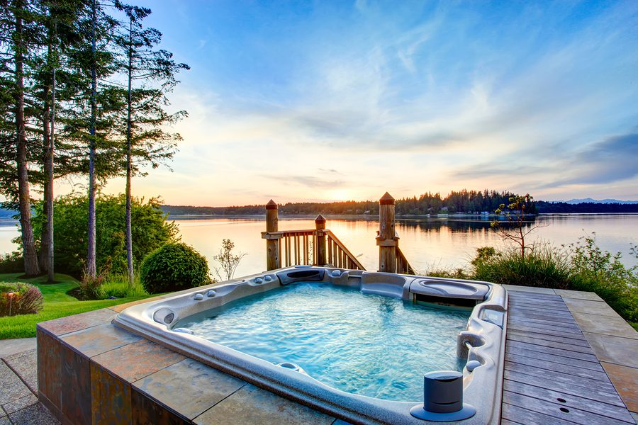 Salt water hot tubs for Types of hot tubs