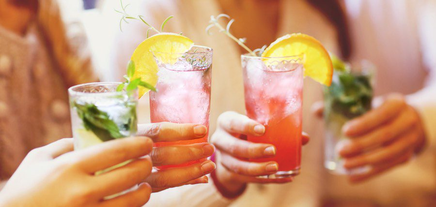 sweet summer sippers