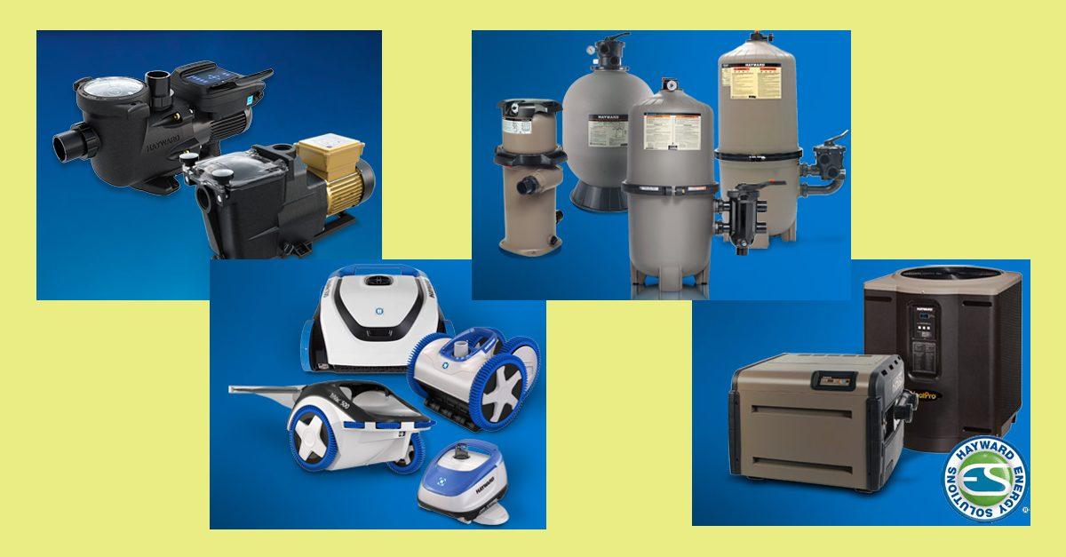 Hayward Pool Equipment, Pumps, Heaters, Cleaners & More