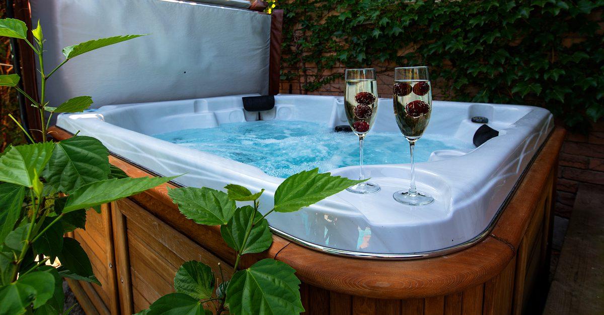 Backyard Hot Tub Privacy