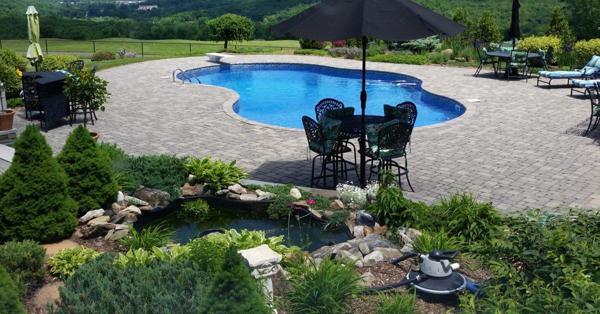 Columbia County PA Custom Pool & Spa Designs
