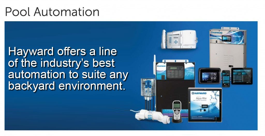 Pool equipment, automation