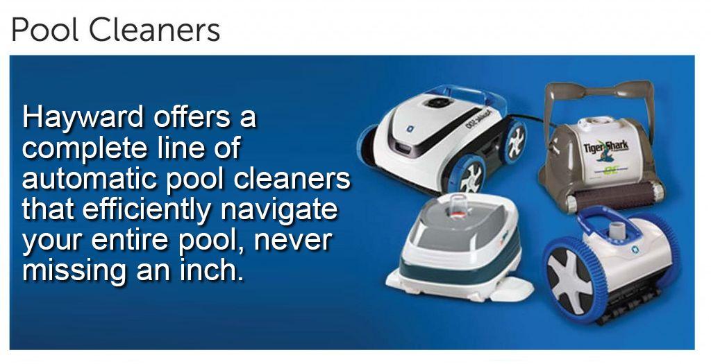Pool equipment, cleaners